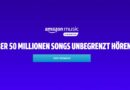 4 Monate Amazon Music Unlimited für einmalig 0.99€