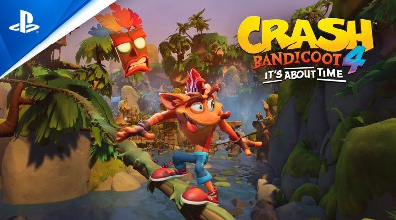 Crash Bandicoot 4 – Vorbesteller erhalten Demo